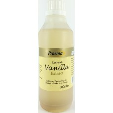Preema Natural Vanilla Extract 500ml