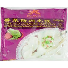 Hongs Pork & Corriander Dumplings 410g