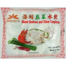 Hongs Mixed Seafood and Chives Dumpling 410g