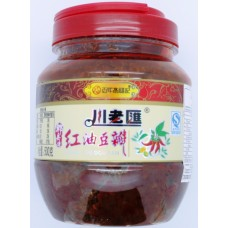 Chua Lao Hui Hot Bean Paste 500g