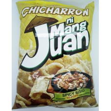 J & J Mang Juan Chicharron Spicy 90g